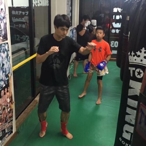 濱野という治政館のアマチュア選手