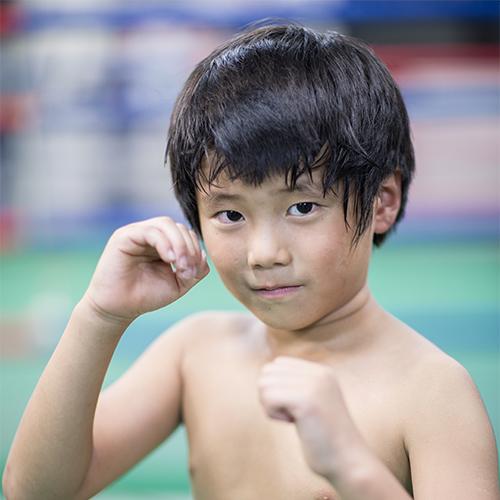 川和いう治政館のキッド選手