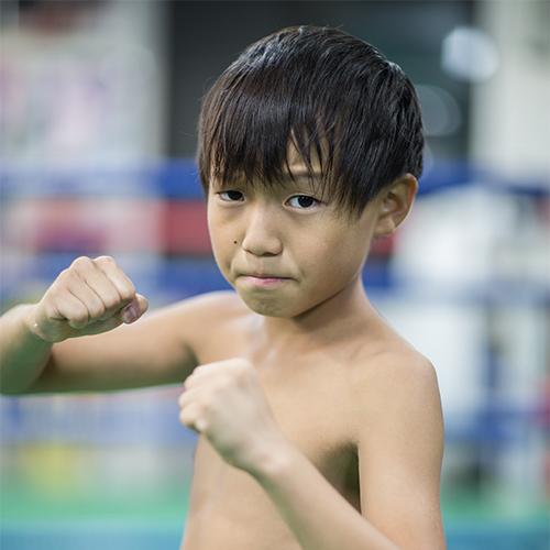谷川いう治政館のキッド選手